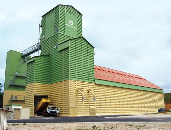 Metal rectangular granary